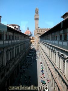Vista desde la Galeria de los Uffizi