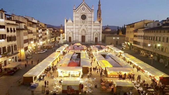 mercado navideno florencia italia toscana visita florencia